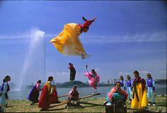 Neolttwigi the traditional seesaw   | Korea