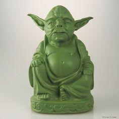 Star Wars Buddhas – Big-Bellied Zen Versions of Darth, Yoda and More.