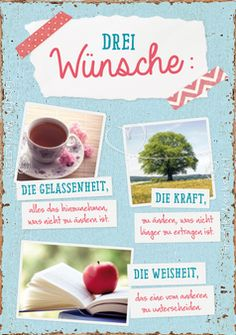 Drei Wünsche: - Postkarten - Grafik Werkstatt Bielefeld