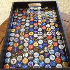 Beer cap tray I made
