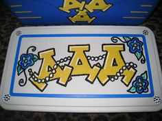 So cute! I really want to be able to have my ADPi letters on my cooler