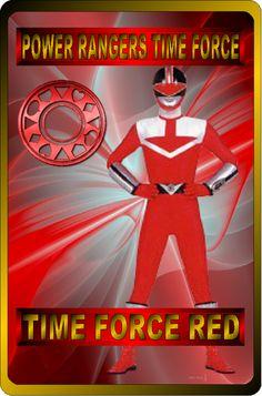 Time Force Red by rangeranime on @DeviantArt