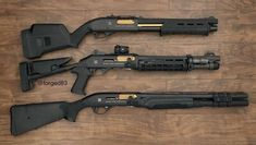 Shotguns anyone? Weapons Guns, Airsoft Guns, Guns And Ammo, Home Defense Shotgun, Combat Shotgun, Custom Guns, Military Guns, Fire Powers, Cool Guns