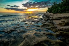 Atardecer en Rincon, Puerto Rico...  Sunset in Rincon, Puerto Rico by Louis O'Halloran, via Flickr