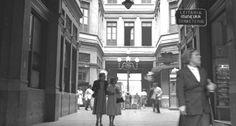 Rio Antigo. Um dos três endereços da tradicional Leiteria Mineira era na Galeria Cruzeiro, no Centro 1957