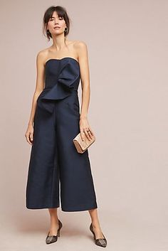 7db50627172c Riella Strapless Jumpsuit Wedding Jumpsuit