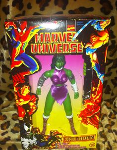 Pin by kasey on christmas ideas pinterest action figures marvel she hulk 10 inch tall marvel universe series fully poseable 1997 marvel comics fandeluxe Gallery