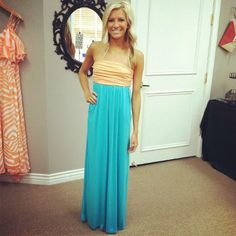 Mint Strapless Maxi Dress with Cinched Bust with Two Side Pockets Maxi Dress-cute website