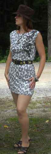 Express Animal Print Mini Dress with Sequins Size Small Free Shipping in the USA