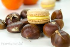 Rezept Macarons Maroni Esskastanien Mandarinen