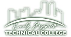 """Emily Griffith Technical College, motto """"For All Who Wish To Learn / Denver's most Unique Technical College."""" Continuing Technical Education (CTE) programs, along with Adult Basic Education (ABE) & GED classes. Alternative high school affiliated with DPS."""