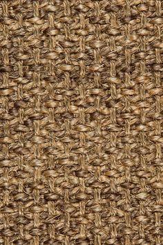 Kona sisal rug in Black Walnut colorway, by Merida.