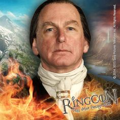 He is Colum MacKenzie in Outlander and part of our big Outlander-Special at RingCon 15.
