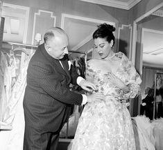 Christian Dior e Ava Gardner, Foto d'archivio - Il Post