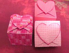 15 Valentine Heart Boxes with links to FREE CUT FILES (Studio3 & SVG). ~Whatchaworkinon.com