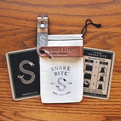 Brown Original Snake Bite Bottle Opener.  Great gift for Dad or any beer lover in your life!  100% made in the USA.   #beer