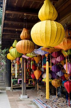 hoian lanterns, Viet Nam. Pretty! Would love to travel there.