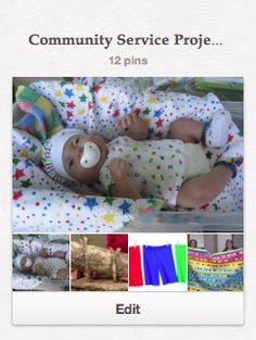 Premmie Cap & Vest...Community Service Project