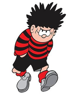 Dennis the Menace embodies the 'trickster' element of this archetype as the definative naughty schoolboy #jester #archetype #brandpersonality