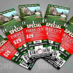 Lawn Care Door Hanger Design lawn care door hanger | lawn care business tips | pinterest | lawn