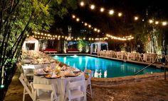 i like the lights oner the pool