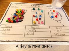 states of matter snow | My class learned so much about the three states of matter from these ...