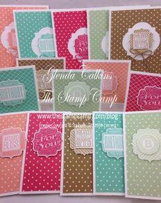 The Stamp Camp | Glenda Calkins Stampin Up! Demonstrator - Part 6