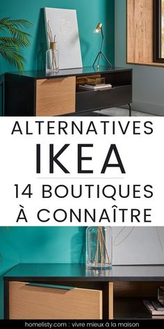 On adore IKEA... Mais on aime aussi ces 14 boutiques déco et meubles ! Enregistrez cette liste avant votre prochaine visite chez IKEA.