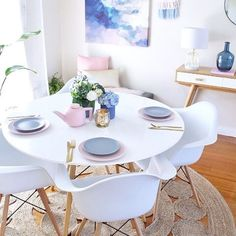 Slow weekend at home for us with two sick  kids...hoping I don't catch it!  At least I got to give my gorgeous new dinner set from @ikea_australia a test run on Friday night.