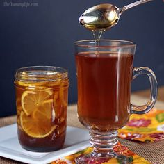 Natural Honey Citrus Syrups for Coughs And Sore Throats