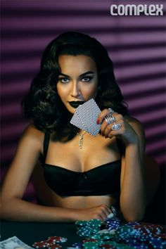 Naya Riviera Looking Like Casino Royalty For Complex Magazine