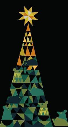 The Fir Tree by Hans Christian Andersen, illustrated by Sanna Annukka.