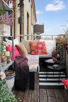 3 Super ideias para você montar sua varanda pequena