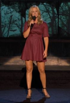 amy schumer  I love her outfit-mainly her shoes