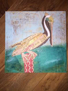Pelican Collage #whimsyville 2015