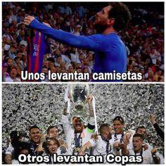 Happy Monday Barcelonistas, grab some popcorn, we're winning the the Champions League on Saturday too. Hugo Sanchez, Real Soccer, Santiago Bernabeu, Soccer Memes, Champions, Darwin, Cristiano Ronaldo, Happy Monday, Instagram Story