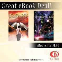 Captives & Outcasts $1.99 ebook Sale!