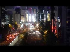 バーチャル ゆりかもめ・東京|081|夜景・左下ーNight View・Left Lower|Virtual Yurikamome Tokyo - cheritube - YouTube