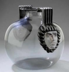 Lalique Vase Cluny