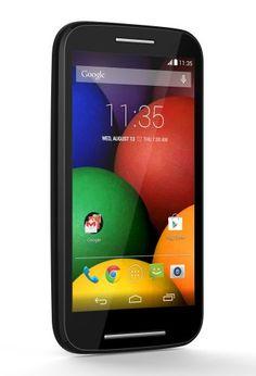 Motorola Moto E (1st Generation) - Black - 4 GB - Global GSM Unlocked