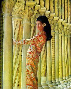 Photo by Henry Clarke. Vogue 1967