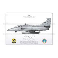 "A-4AR ""Fightinghawk"" C-905 Argentina CZ-04 Harley Davidson Online Store, Aviation Art, Air Force, Fighter Jets, Aircraft, Cutaway, Planes, American, War"