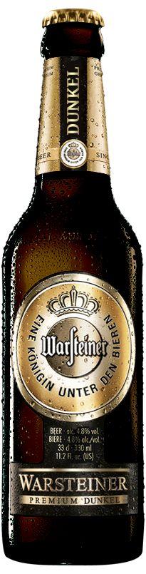 Warsteiner Dunkel- An exceptionally smooth, dark, German Dunkel. (What's a dunkel?!)