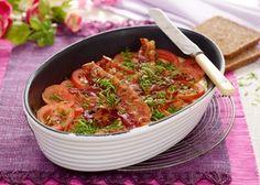 Æggekage i ovn | Opskrifter på æggekage på pande, omelet m.m. Nem frokost eller aftensmad.