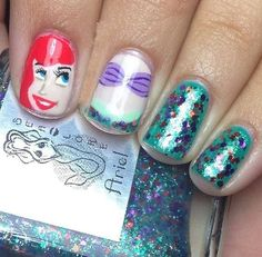 Today we will put forward our top 9 favorite Disney nail art designs which will take you back to your childhood.