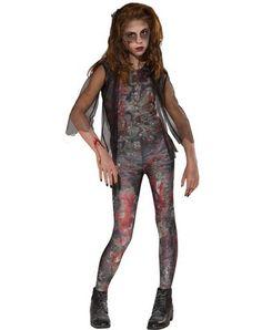 Zombie Dawn Girls Child Costume   My costume for halloween!