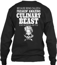 Limited Edition Chef Culinary Beast Tee