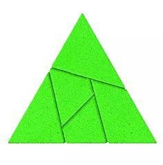 Puzzle Triángulo: 5,50€. Más info aquí: http://eldesvandesarah.es/ds/producto/puzle-triangulo/