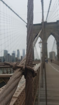 Brooklyn bridge . . .