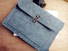 Notebook-Sleeves - passend für MacBook Air 13.3 Tasche Hülle Sleeve - ein Designerstück von FilzsYa bei DaWanda